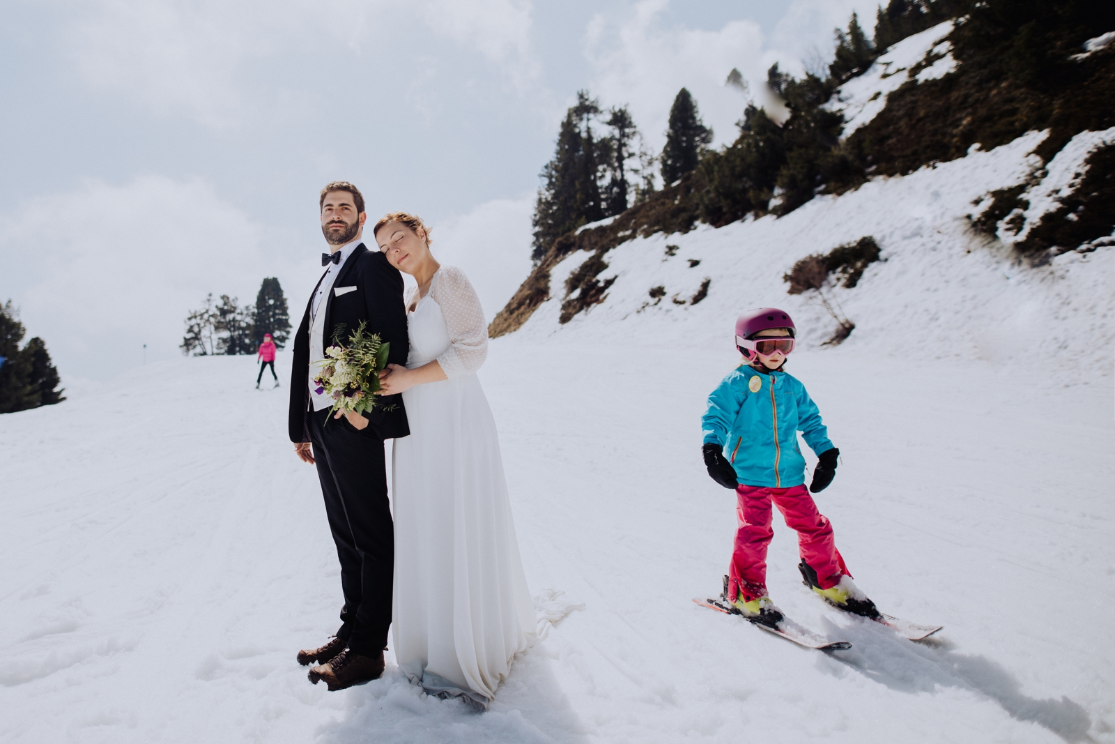 Honeymoon shoot in the mountains in Austria by Wild Connections Photography