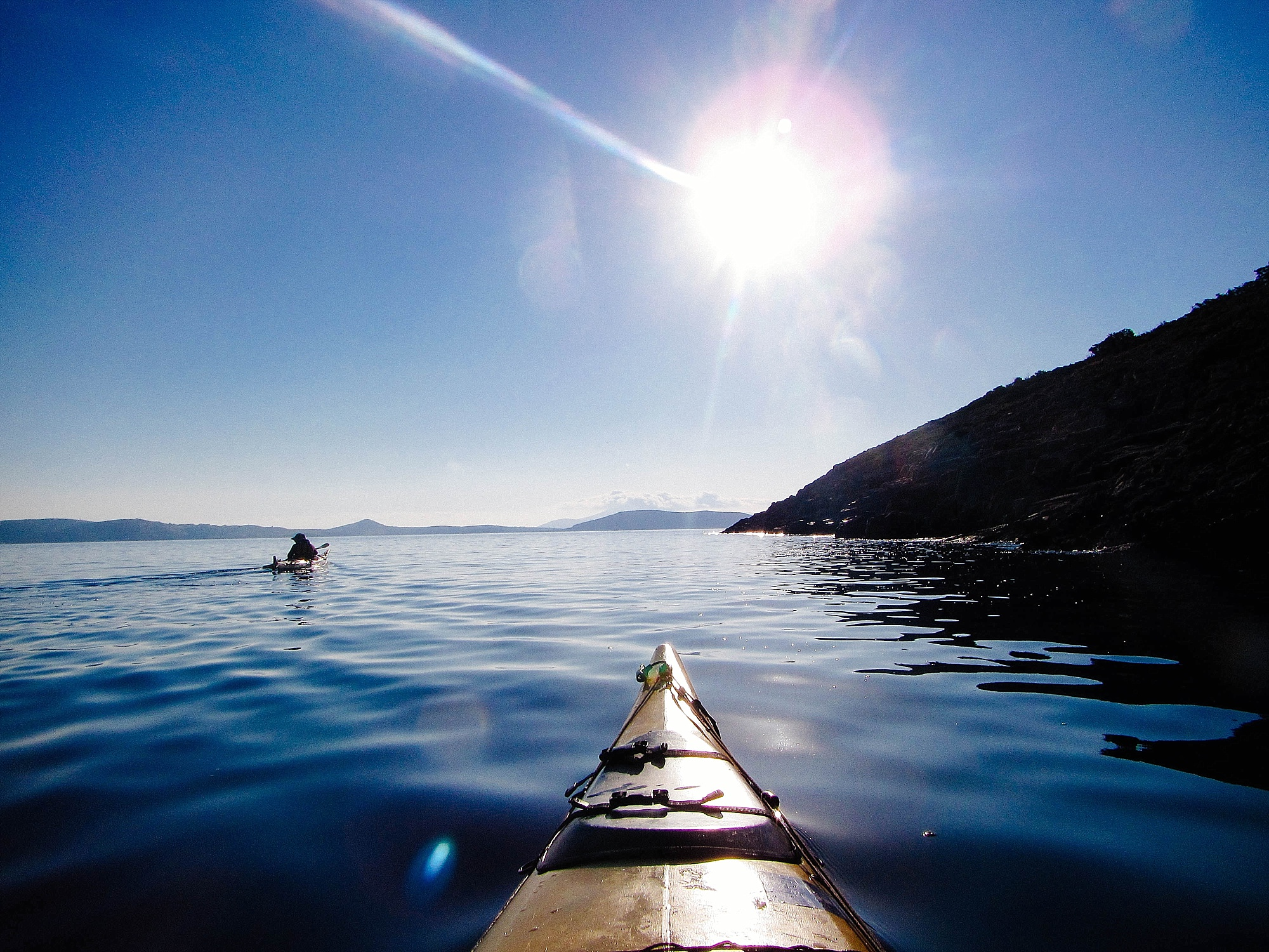 Sunset sea kayaking in Greece by Mister Pretty's Pictures