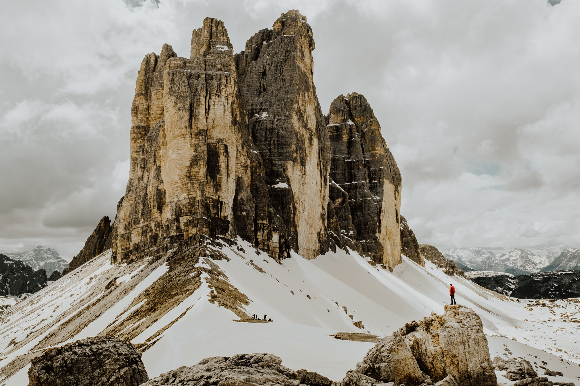Hiking the Tre Cime di Lavaredo in the Dolomites by Wild Connections Photography
